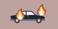 Tragis, Dua Anak Balita di Kandis Tewas Terbakar dalam Mobil